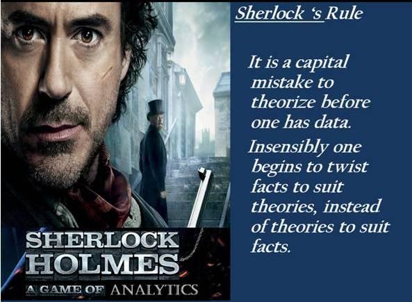 Sherlock-Holmes Analyticpedia
