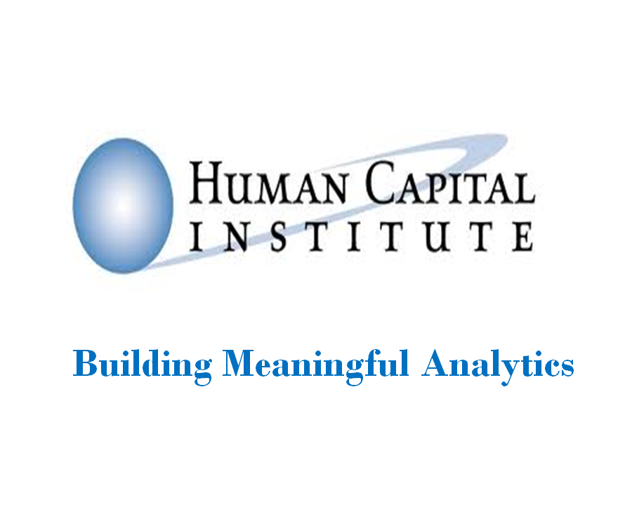 HCI Analyticpedia New HR Analytics Course  Building Meaningful Analytics