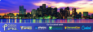 Predictive Analytics World Sept 29 – Oct 3 2013 in Boston @  Seaport World Trade Center | Boston | Massachusetts | United States